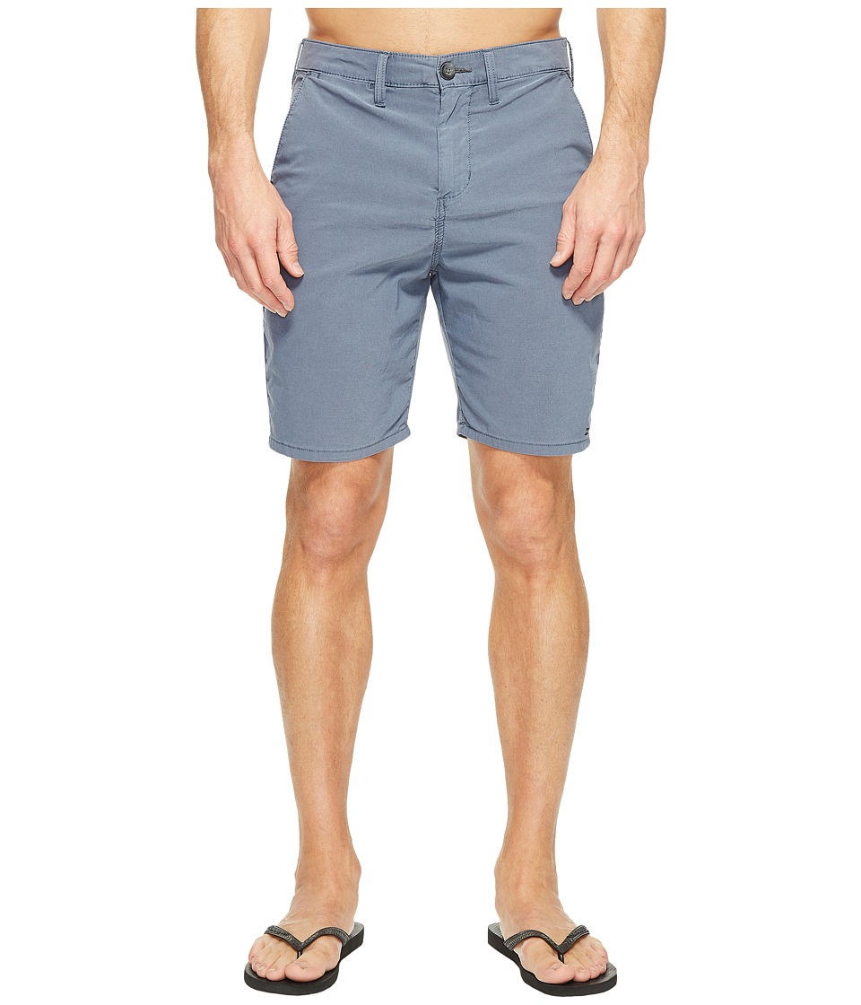 Billabong New Order X Overdye Walkshorts (Indigo) Men