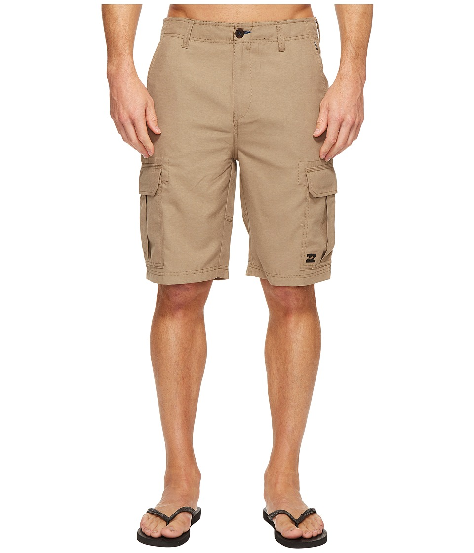 Billabong Scheme Submersible Walkshorts (Khaki Heather) Men