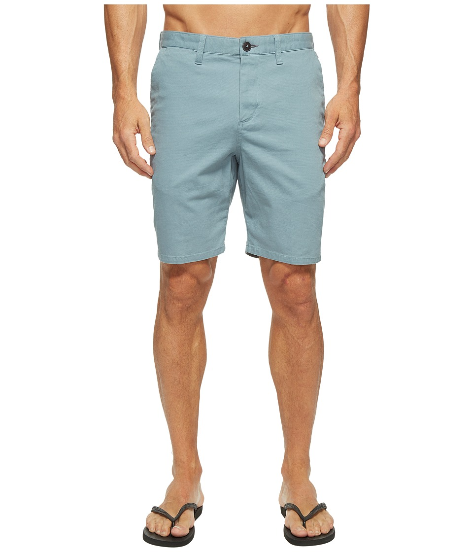 Billabong New Order Walkshorts (Light Steel) Men