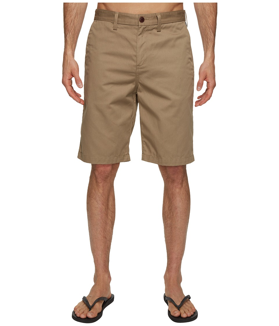 Billabong Carter Walkshorts (Dark Khaki) Men