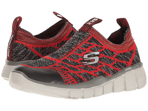 SKECHERS KIDS Equalizer 2.0 97376L (Little Kid/Big Kid) - Red/Charcoal