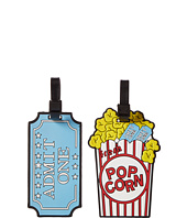 Betsey Johnson - Popcorn Luggage Tag
