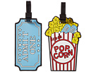 Betsey Johnson - Popcorn Luggage Tag