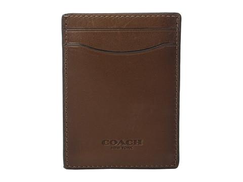COACH Sport Calf 3-in-1 Card Case
