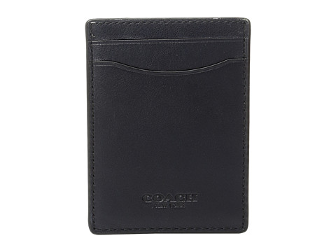 COACH Sport Calf 3-in-1 Card Case - Midnight