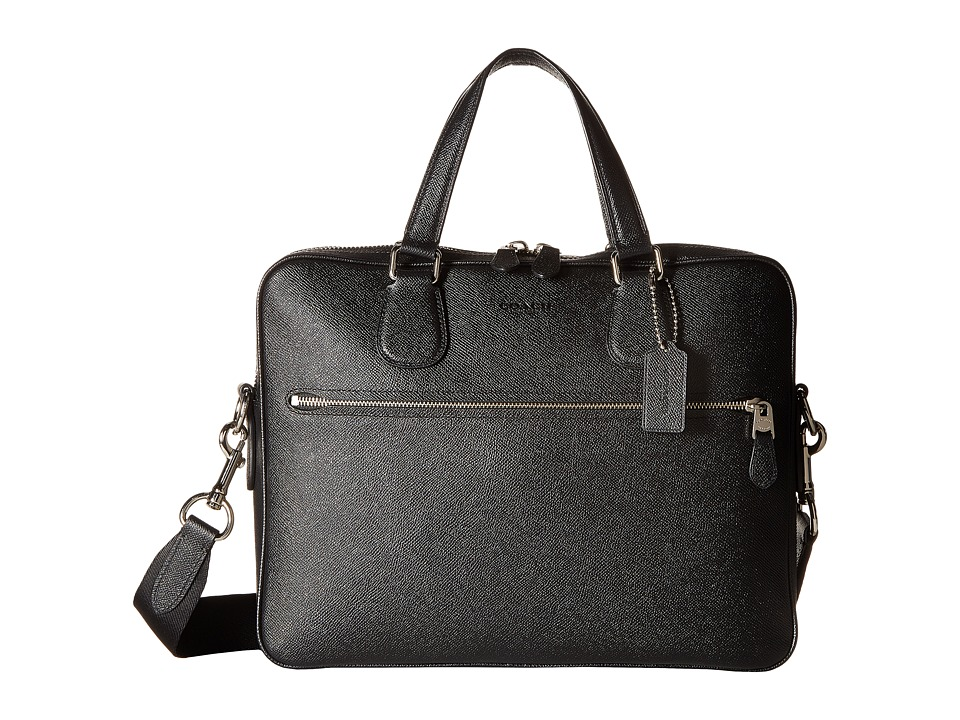 COACH - Hudson 5 Bag (Silver/Black) Bags