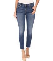 7 For All Mankind - The Ankle Skinny w/ Raw Hem in Hyde Park