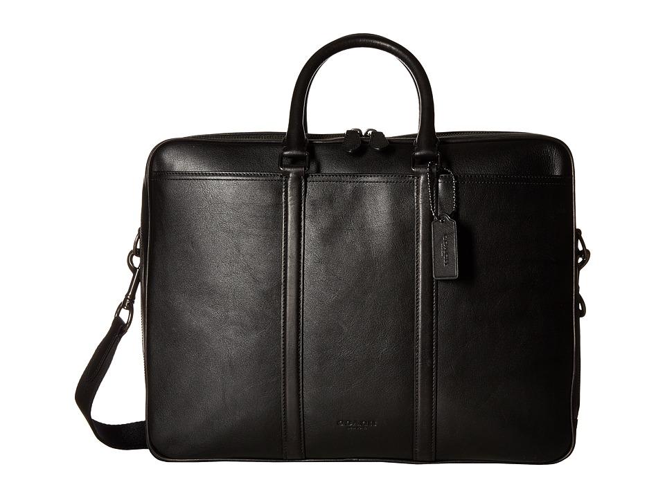 COACH - Metropolitan Commuter (QB/Black) Bags