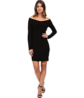 Splendid - 2x1 Rib Dress Off the Shoulder