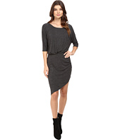 Splendid - Heathered Slub Jersey Asymmetrical Hem Dress