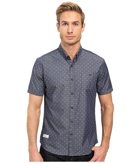 7 Diamonds Habbits Short Sleeve Shirt - Navy