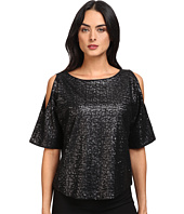 Splendid - Sequins Cold Shoulder Top