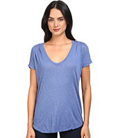 Splendid - Slub Tees Pleat Shoulder Top