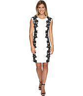 Vince Camuto - Sleeveless Dress with Side Lace Panels