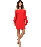 Vince Camuto - Off Shoulder Dress with Handkerchief Sleeves