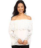 Vince Camuto - Lace Bell Sleeve Off Shoulder Blouse