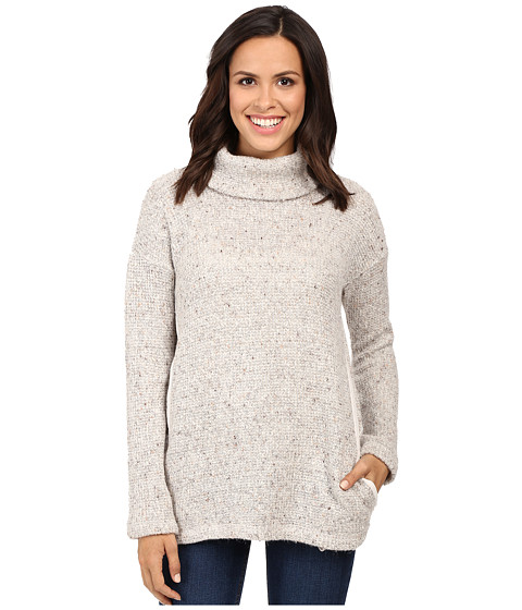 Splendid Double Face Loose Knit Roll Neck Pullover