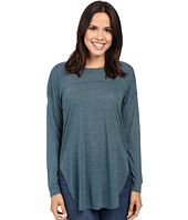 Splendid - Heathered Drop Shoulder Long-Sleeve Tee