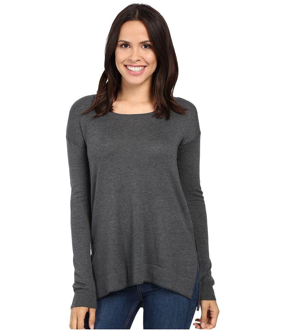 Splendid Logan Pullover Sweater (Heathered Gravel) Women
