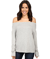 Splendid - Super Soft Brushed French Terry Slouchy Boat Neck