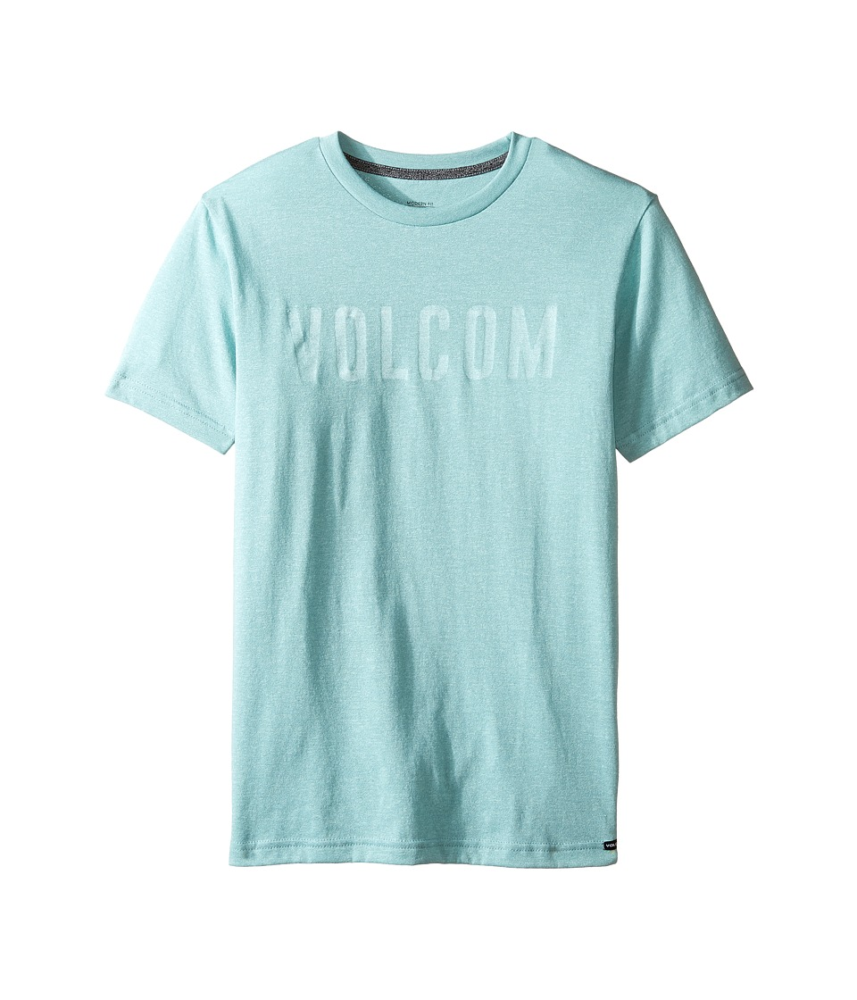 Volcom Kids Trucky Short Sleeve Tee (Big Kids) (Sea Blue) Boy