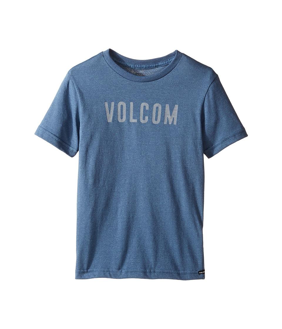 Volcom Kids Trucky Short Sleeve Tee (Toddler/Little Kids) (Blue Plum) Boy