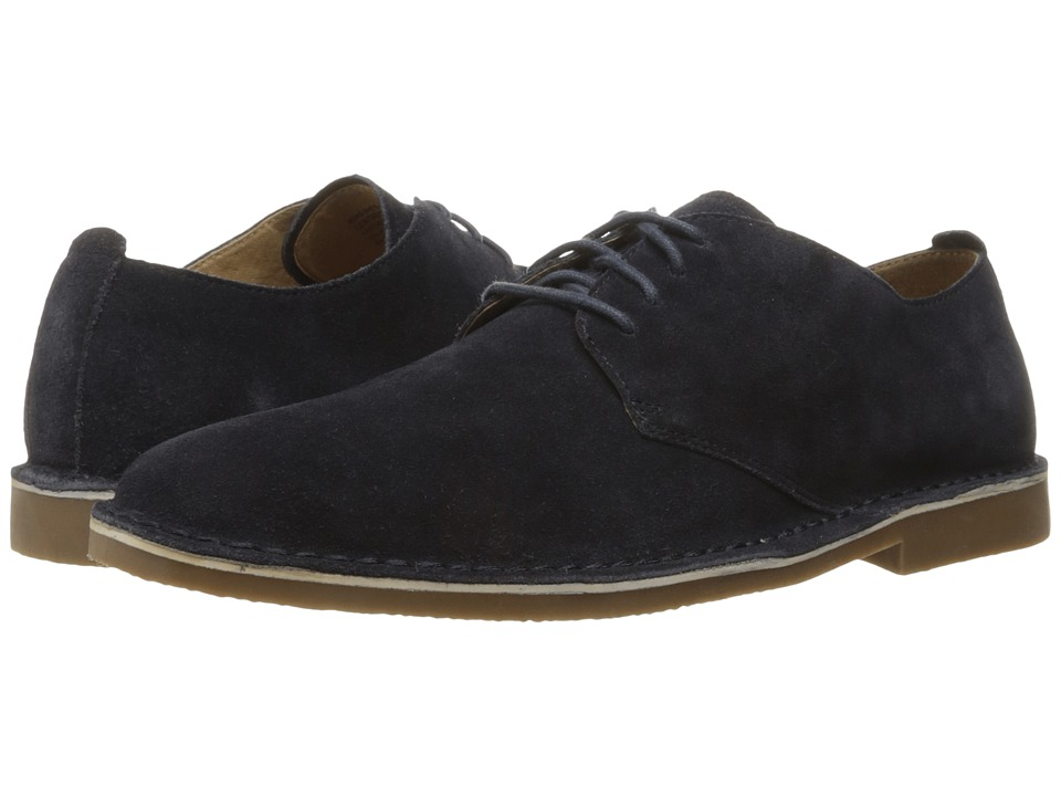 Nunn Bush Gordy Plain Toe Oxford (Navy) Men
