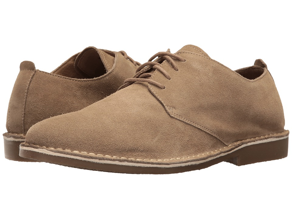 Nunn Bush Gordy Plain Toe Oxford (Beige) Men