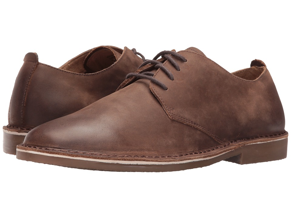 Nunn Bush Gordy Plain Toe Oxford (Tan Chamois) Men