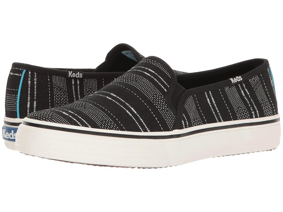 Keds Double Decker Baja Stripe (Black) Women