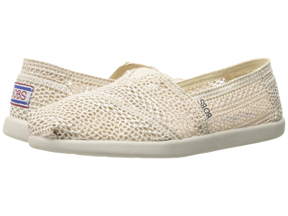 BOBS from SKECHERS - Bobs World (Natural) Womens Slip on  Shoes