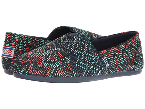 BOBS from SKECHERS Bobs Plush - Navy/Multi