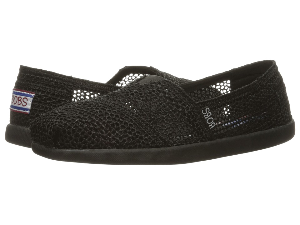 BOBS from SKECHERS Bobs World (Black 1) Women