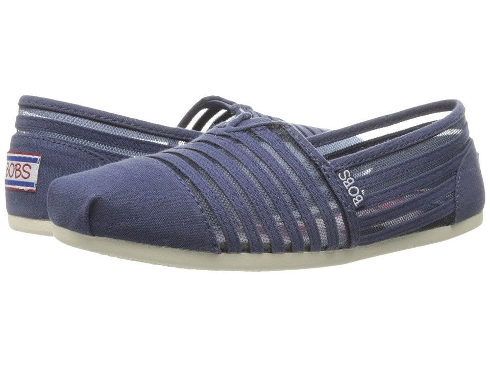 BOBS from SKECHERS Bobs Plush (Navy 1) Women