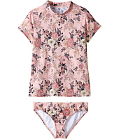Billabong Kids - Beach Beauty Short Sleeve Rashguard Set (Little Kids/Big Kids)