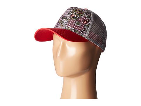 Prana La Viva Trucker Hat - Cosmo Pink Fleur Damour
