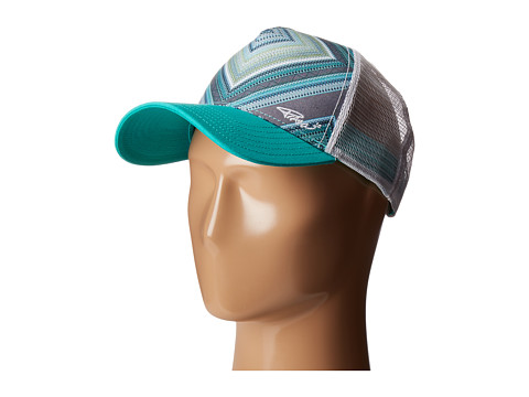 Prana La Viva Trucker Hat - Emerald Riviera