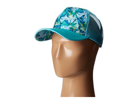 Prana La Viva Trucker Hat - Emerald Pinwheel