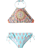 Billabong Kids - Samsara Reversible High Neck Set (Little Kids/Big Kids)