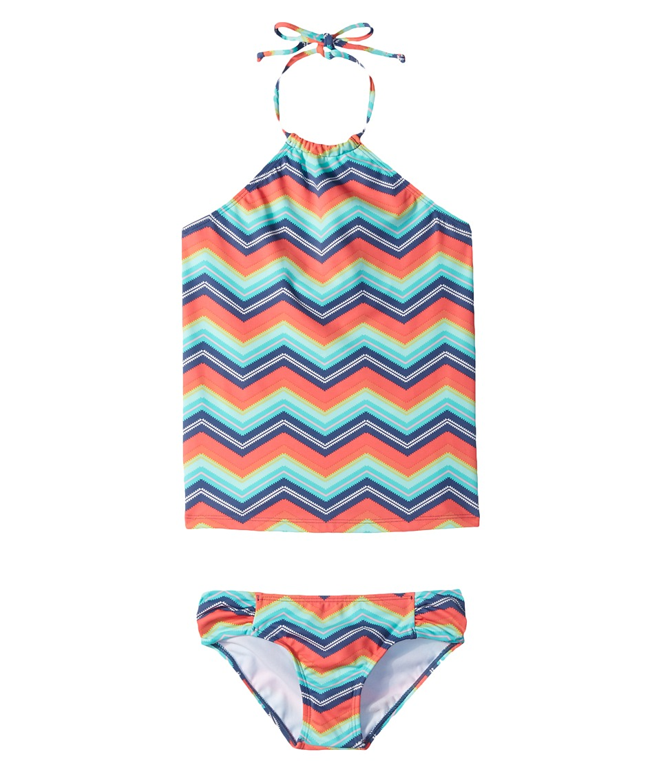 Billabong Kids Ziggyland Tankini Set (Little Kids/Big Kids) (Multi) Girl