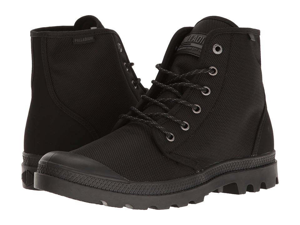 Palladium Pampa Hi Originale TX (Black/Castlerock) Lace-up Boots