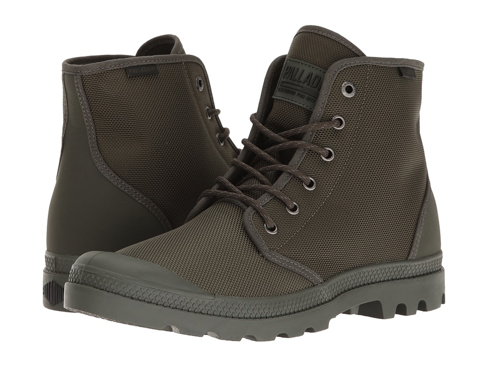 Palladium Pampa Hi Originale TX (Army Green/Castlerock) Lace-up Boots