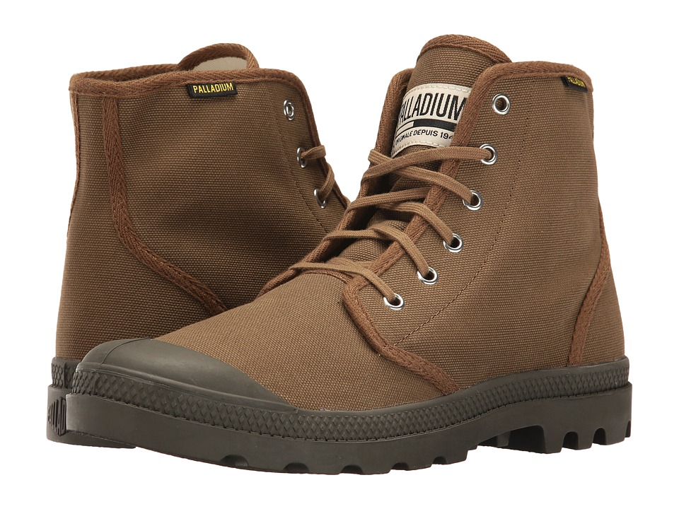 Palladium Pampa Hi Originale (Butternut/Tarmac) Lace-up Boots