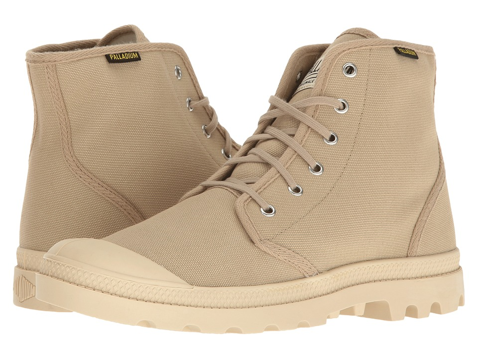 Palladium Pampa Hi Originale (Sahara/Ecru) Lace-up Boots