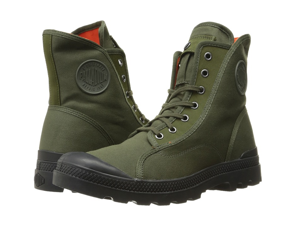 Palladium Pampa M65 Hi (Army Green/Black/Flame) Men
