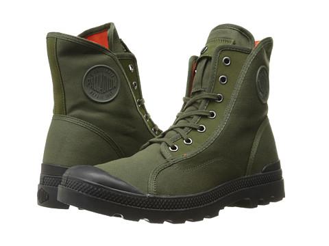 Palladium Pampa M65 Hi - Army Green/Black/Flame
