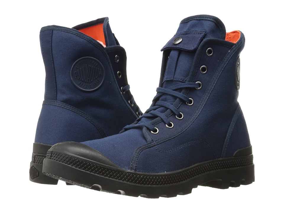 Palladium Pampa M65 Hi (Navy/Black/Flame) Men