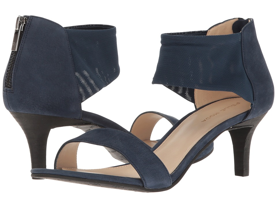 Pelle Moda Eden (Midnight Nubuck) High Heels