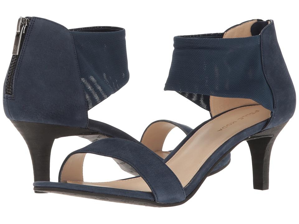 Pelle Moda - Eden (Midnight Nubuck) High Heels