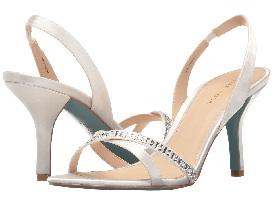 Pelle Moda Inna (White Satin) High Heels